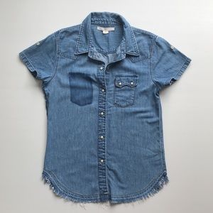 Levi's San Fransisco distressed short sleeve Shirt